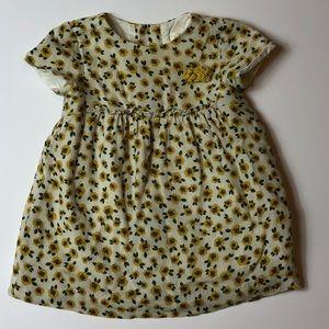 💚Zara Baby Girl Sunflower Dress